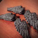 堕天使の羽のご購入ありがとうございました(*^▽^*)病みかわいいメルヘンなゴシックアイテム♪