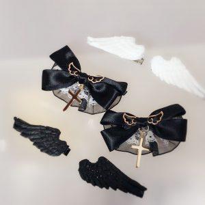 ご購入いただきありがとうございます(*^▽^*)ゆらきらミニと堕天使と天使の羽をお送りいたします♪年内受付は12月25日までです♪